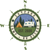SkyPark Camp + RV Resort Logo